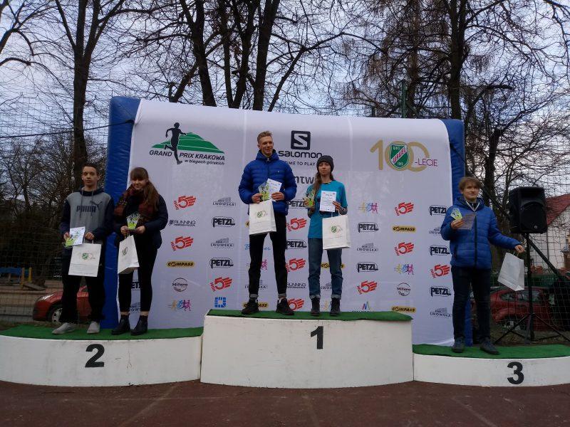 Zwyciestwo w VII edycji Grand Prix Krakowa w biegach górskich.